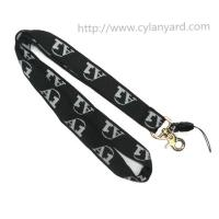 woven lettered lanyards