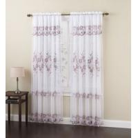 Best Modern Blue Window Polyester Fabric Shower Curtain For Living Room wholesale