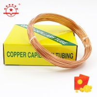 Quality 10m Seamless Soft Temper Copper Capillary Tube for sale