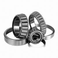 Quality Single-row Tapered Roller Bearing, Made of GCR15, Used to Bear Radial Load for sale