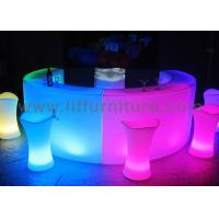 Best club led glow LED bar counter with LED lighting and remote for events and party wholesale