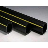 Quality high density polyethylene black PE gas poly pipe corrosion resistance is excellent for sale