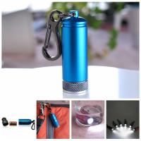 China promotional waterproof LED keychain light on sale