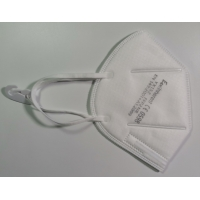 Quality Non Irritating Foldable FFP2 Particle Filtering Half Mask for sale