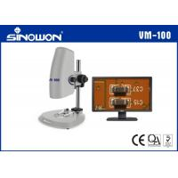 Best Laboratory Zoom Digital Video Microscope System With Coarse Fine Adjustment 200X wholesale