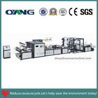 China Quality warranty non woven bag making machine with best service on sale