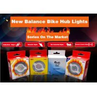 Quality New Balance Bike Hub Lights USB Rechargeable Waterproof Safety Rear Cycling Hub Spoke Wheel Light 7 colors for sale