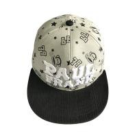 Quality Volunteer Advertisement Kids Baseball Caps With Embroidery Printed Word Logo for sale