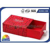Best Recycled Chipboard Rigid Slide Box Custom Drawer Boxes with Offset Printing wholesale