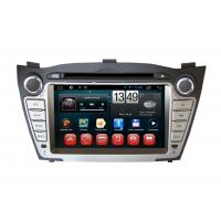 Quality IX35 Tucson Hyundai DVD Player Android GPS Navigation Rearview Camera Input Bluetooth for sale