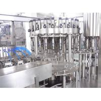 Quality Drinks Electric Liquid Bottle Filling Machine , 6000BPH Washing Filling Capping 3-IN-1 for sale