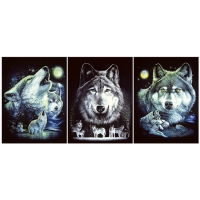 Quality Wild 3d Animals Images Offset Printing Free Sample / Custom Lenticular Printing for sale