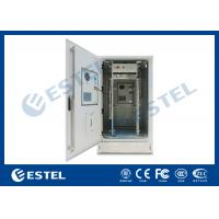 Quality IP65 Outdoor Telecom Cabinet With Front And Rear Door for sale