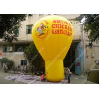 Quality Big Inflatable Advertising Balloons With 0.55mm PVC tarpaulin commercial grade for sale