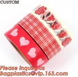 Quality HAPPY VALENTINE'S DAY SERIES WASHI TAPE,Dia3.7cm Animal Flower Whale Washi Tape Diary Photo Album Decorative Tape DIY Pa for sale