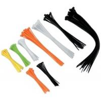 Quality Multi coloured Industrial Cable Ties, hook loop cable ties with Nylon Material for sale