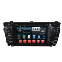 Quality 2014 Toyota Corolla GPS Navigation Android DVD Player 7inch Touch Panel for sale