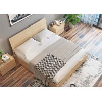 Quality Elegant Hotel Style Furniture Bed Melamine Laminated Board With PVC Edge for sale