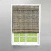 Quality Modern Pvc Window Blinds , Pvc Waterproof Roller Blinds Weaving With Raffia for sale