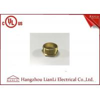 Quality BSI Stahdard Brass Lock Nut Male / Female Bush GI Thread Hexagon Type for sale