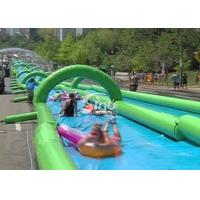 Quality Custom made outdoor giant inflatable the city water slide for summer water game fun from Sino Inflatables for sale