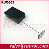 Quality Ipad Security Tether With Sticking Metal Plate , Shop Retail Anti Theft Pull Box  for sale