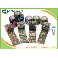 Buy Army Camping Hunting Camouflage Pattern Printing Non Woven Self Adhesive Elastic Bandage at wholesale prices