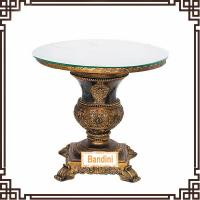 Best Antique Tea table with glass surface coffee table French style antique dining table G057-4 wholesale