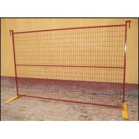 Commercial Building Site Security Fencing Panels Anti Climb High Flexibility