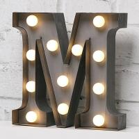 China Metal Customized Color LED Carnival Lights Letter Sign For Home Decoration on sale