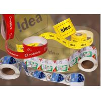 Best Product color barcode advertisement label sticker wholesale