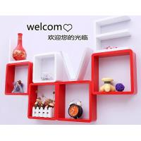 Best Korean Style Love Storage Rack Wall Shelf Wall Hanger Home & Wall Decor Creative Gift White Color wholesale