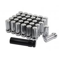 Quality Premium Chrome Wheel Lug Nuts 2 Inch Long Acorn For Ford F250 / F350 for sale