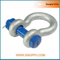 Buy cheap Hot Dipped Anchor Bolt Bow Shackle from wholesalers