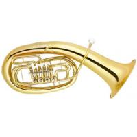 China Nickel Plated Euphonium 4 Rotary Valves Brass Musical Instrument With Cupronickel Tuning Pipe on sale