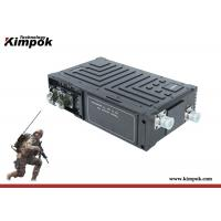 5~10km LOS COFDM Wireless Video Transmitter Low Delay IP Radio Transceiver with 5W Power for sale