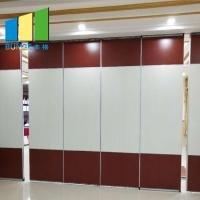 Quality Soundproof Decorative Material Folding Movable Partition Walls With Installation for sale