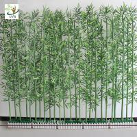 Best UVG wholesale decorative artificial lucky bamboo in silk and plastic leaves for indoor decoration PLT19 wholesale