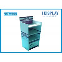 China 3 Tier Supermarket Retail Pallet Paper Display Stand / Pallet Display Shelves on sale
