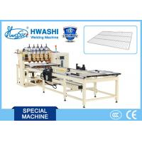Best Kitchen Wire Tray / Wire Shelf Spot Welding Machine With CNC Program System wholesale