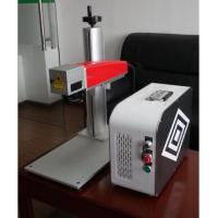 Best 20W Mini fiber laser marking machine for plastic PVC data matrix and barcode wholesale
