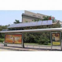 Best Solar Advertising LED Light Box for Bus Shelter, Waterproof, Customized Sizes are Accepted wholesale