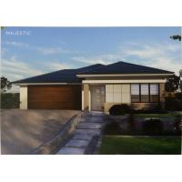 Quality 4 Bedroom Modern Prefab Bungalow Homes Modular Light Gauge Steel Structure for sale