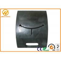 China Removable Rubber Base Sign Holders Stands for Traffic Panel / Construction Site Delineator on sale