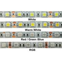 Best 24W 12v RGB 5050 SMD LED Strip Lights IP68 Waterproof Outdoor LED Lighting wholesale