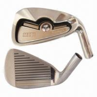 Golf Irons, Made of 431 Stainless Steel and Graphite Shaft or Steel Shaft, Fashionable Shape
