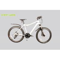Buy cheap Pedal Assist High Level Electric Powered Mountain Bike 36v Lithium Battery Hide from wholesalers