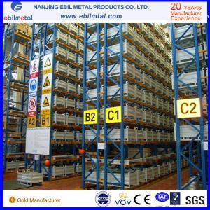 China Pallet Racking / Beam Racking, orange / blue / green customized sizes Powder Coated  Heavy Duty Racking on sale