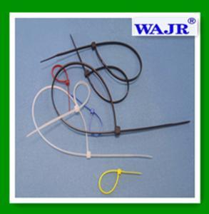 China WAJR nylon zip ties 4.8*370 on sale