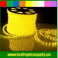 Best low voltage decoration 2 wire round led rope light for festival wholesale